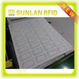 Tamanho 2X5 da alta qualidade A4 do preço de fábrica das amostras livres, 3X8, 3X7, 4X8, 5X5 embutimento híbrido Prelam da disposição RFID para o smart card (LF+UHF, LF+HF, HF+UHF)