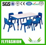 의자 Sf-10c를 가진 대중적인 싼 유치원 조정가능한 테이블