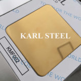Steel inoxidable Color Mirror 8k Kmf002 Sheet pour Decoration Materials