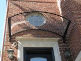 Abrigo del obturador/del pabellón/de la cortina del policarbonato DIY para las puertas de Windows& (series de Roma)