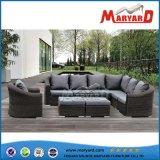 Jogo confortável do sofá do projeto do jardim do Rattan