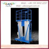 Liga de alumínio Plataforma de Elevação da Plataforma de Trabalho de Elevação Vertical/mesa de elevação