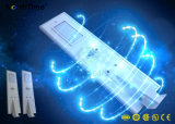 40W Smart Phone APP controla la luz solar calle LED integrado