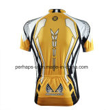 Изготовленный на заказ Sublimation Print Cycling Джерси с Zipper Placket