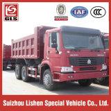 판매 Sinotruk 덤프 팁 주는 사람 트럭을%s HOWO 덤프 트럭 25 톤 18 M3