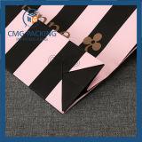 작은 꽃은 인쇄했다 백색 카드 종이 봉지 (DM-GPBB-110)를 포장하는 선물을