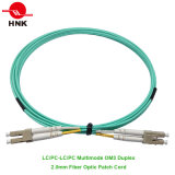 LC PC/UPC/APC Simplex Monomodo Duplex patch cable de fibra óptica multimodo
