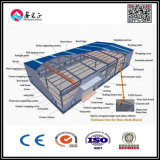Edificio prefabricado constructivo del fútbol de interior del estadio de la estructura de acero, edificio de la estructura de acero