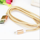 Bestes Verkaufs-Nylon isolierte der 8 Pin-Blitz USB-Kabel für Apple iPhone/iPad/iPod