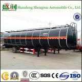 30m3 de l'utilitaire de bitume semi-remorque de camion du réservoir de liquide pétrolier avec brûleur
