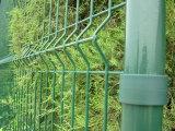 Горячая окунутая гальванизированная загородка Palisade сада металла порошка Coated