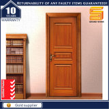 Kundenspezifische Eintrag-Schlafzimmer-festes Holz-Mahagonitür