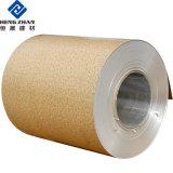 Color del grano de piedra de la bobina de aluminio recubierto de hojas utilizadas para Home-Decorating