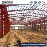Estructura de acero prefabricada montados rápido de la construcción de almacén para la industria