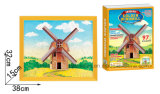 Children (Windmill)를 위한 3D Paper Puzzle