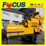 Bomba concreta combinada con el mezclador concreto Js500