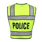 反射テープを持つ警察のための高い可視性の安全ベスト