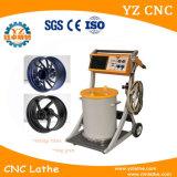 Horno eléctrico de la capa del polvo para curar las ruedas de coche