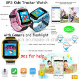 GPS het Horloge van de Drijver voor Jonge geitjes met Camera en Flitslicht (D26C)