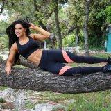 A ioga da aptidão do exercício do esporte do Outwork arfa as caneleiras (3043)