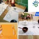 PP Spunbond non tissés jetables Tablecloth/capot table/Table feuille/Table Runner