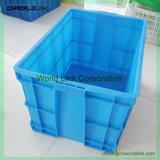 Movimentação de carga pesada Caixa de plástico grosso para o pacote