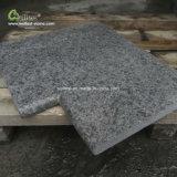 Черный базальтовой Inground бассейн справиться углы камня