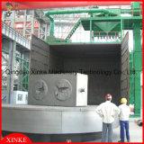 Mesa rotativa de peças de grandes dimensões ou placa giratória vazio de Granalhagem a máquina