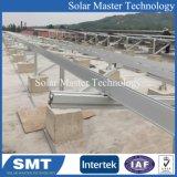 An der Wand befestigtes Aluminium PV-Panel-Solarmontage-Zahnstange