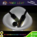 재충전용 바 가구 번쩍이는 LED 와인 쿨러