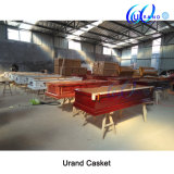 Бархат Casekt нового горячего сбывания конструкции восьмиугольника Mahogany и гроб