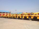 판매를 위한 반 3개의 차축 화물 수송기 트럭 트레일러 트레일러