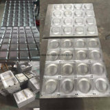 Espuma de aluminio Caja de almuerzo de comida de plástico termoformado molde contenedor