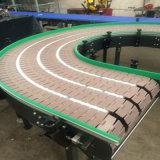 45 180 90 Grad-Turnning gebogener Bandförderer-Nahrungsmittelgrad-Bandförderer