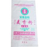 Type tissé sacs de empaquetage de sac de matière plastique de farine de blé de graine d'agriculture