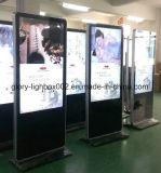 46 LCD van de Tribune van de Vloer van de duim de Vertoning van de Reclame met de Aanraking van IRL en Androïde Systeem