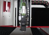 重い固体強い閉じるタイプ安全なファイバーレーザーの切口の打抜き機1530アルミニウムカーボンステンレス鋼の切断