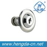 Yh9730 Aço Inoxidável Round Cam Lock Master Key