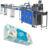 Sacs intermédiaires Papier toilette Rolls Bundling Packing Machine