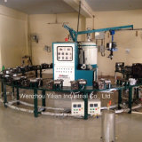 Type banane Coulée basse pression PU Shoe Making Machine
