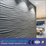 3D decorativo Wall Fireproof Acoustic Insulation Panel