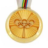 フィートの形の装飾が付いている記念品メダル