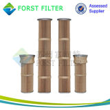 Filtro em caixa plissado de ar da indústria de cimento de Forst
