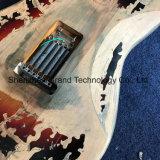 Guitare électrique âgée de relique dans la couleur Sunburst (SRV-2)