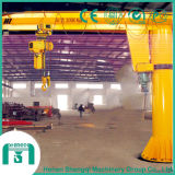 Application industrielle Bz Type Pillar Mounted Jib Crane