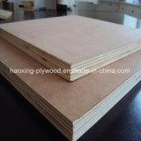 4*8FT Poplar Core Okoume contraplacado para uso de mobiliário