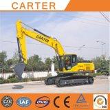 Excavatrice hydraulique lourde multifonctionnelle chaude de pelle rétro de chenille des ventes CT240-8c