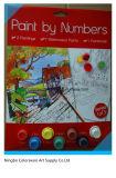 La pintura del color de agua Set con papel de cepillo y drwaing para Creative y bricolaje