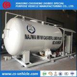 Precio barato 10000L de la estación de Gas Gas, de 10 cbm dispensador de llenado de GPL Nigeria 5 toneladas de la estación de patín GPL