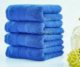 Сплошным цветом хлопка Dobby банными полотенцами.